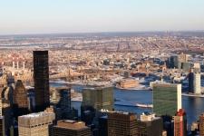Sicht aus dem Empire State Building