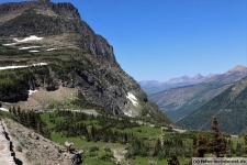 Logan Pass im Glacier Nationalpark