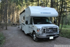 Campingplatz am Lake McDonald