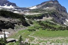 Logan Pass im Glacier Nationalpark