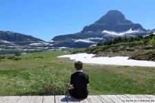 Hidden Lake Trail im Glacier Nationalpark