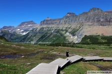 Hidden Lake Trail im Glacier Nationalpark