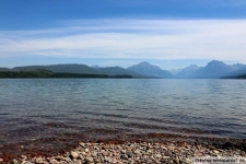 Lake McDonald im Glacier Nationalpark