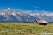 Grand Teton Nationalpark: Mormon Row