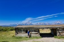 Grand Teton Nationalpark: Mormon Row