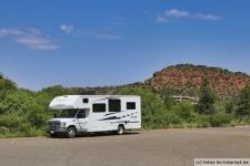 Wohnmobil in Sedona, Arizona