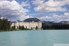 Banff-Lake-Louise-Schloss