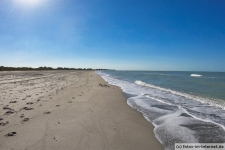 Bowman's Beach auf Sanibel Island in Florida