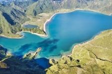 Lagoa do Fogo in Sao Miguel auf den Azoren