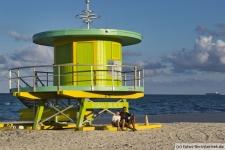 Miami Beach Rettungsschwimmer Turm