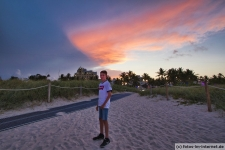 Miami Beach Abendrot