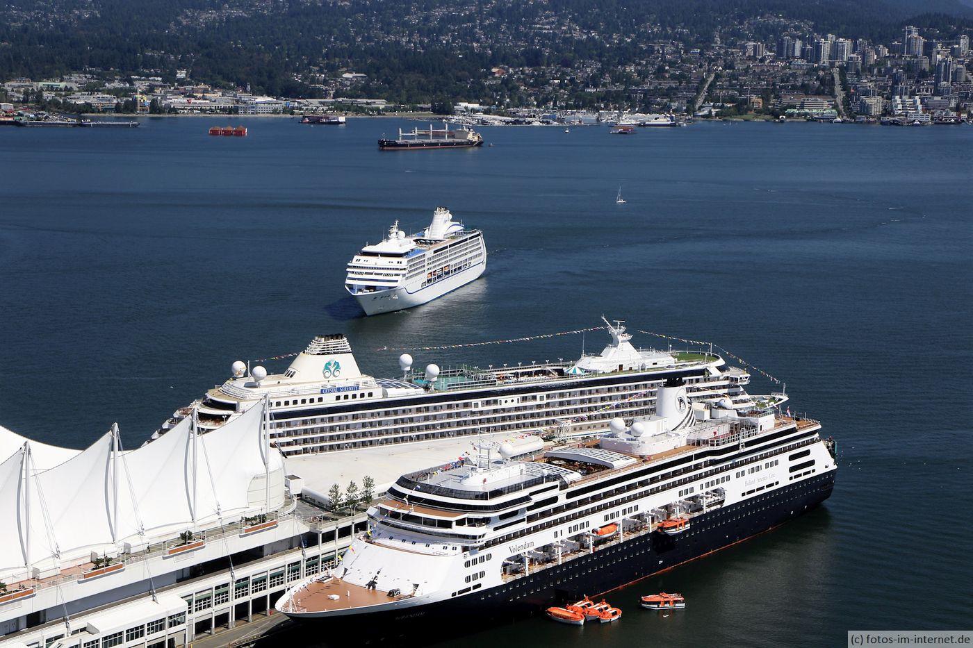 Vancouver: Kreuzfahrtschiffe