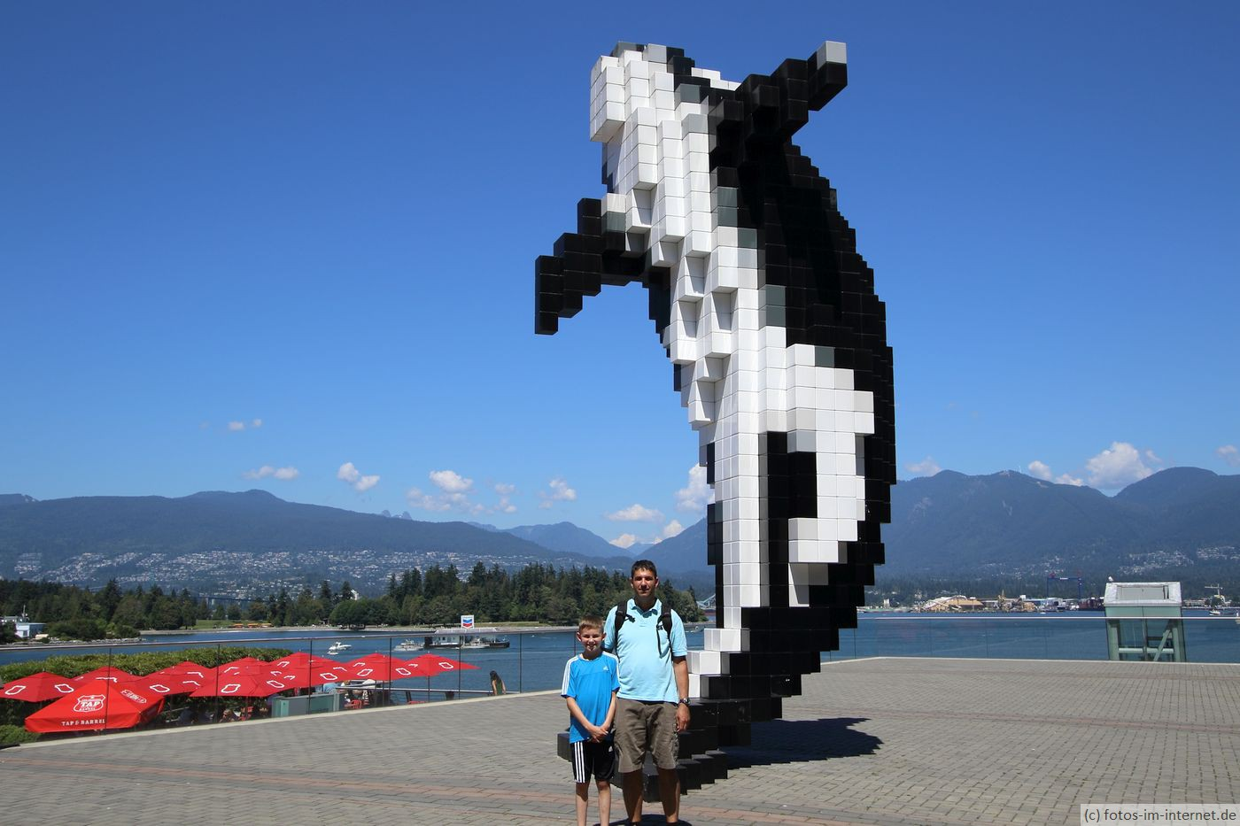 Vancouver: Orca Statue