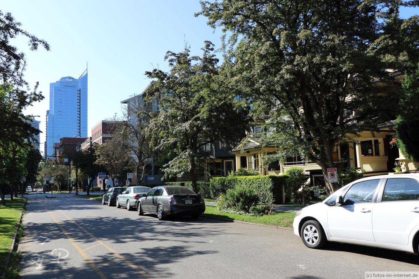 Vancouver: Typische Straße