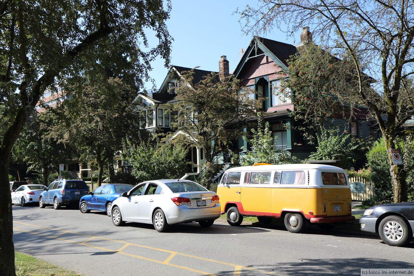 Vancouver: Typische Häuser
