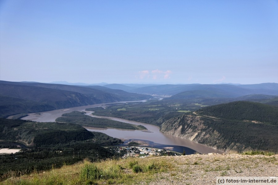 Dawson City Midnight Dome