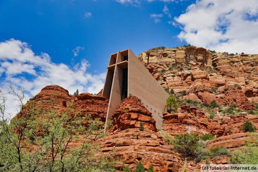 Bild der Kapelle des Heiligen Kreuzes in Sedona, Arizona/USA