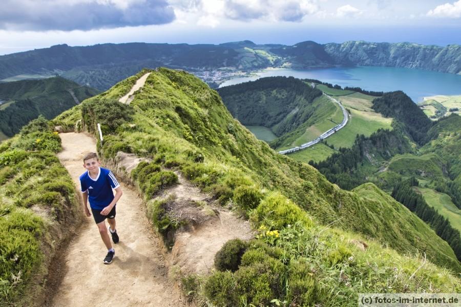 Azoren Reisebericht - Sete Cidades Wanderung