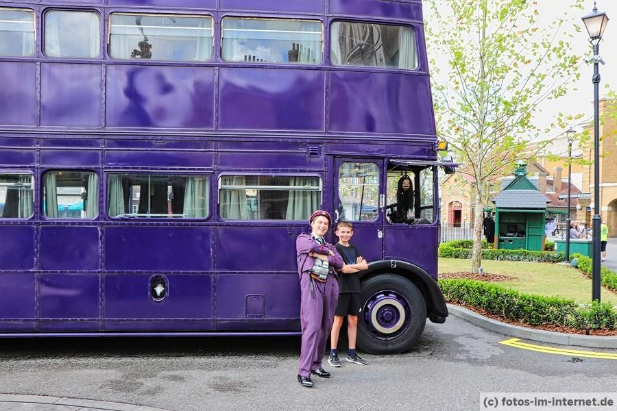 Universal Studios Florida Reisebericht - Harry Potter Knight Bus